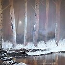 """Winter woodland 2"" by Alan Harris"