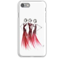 Red Bling Dress iPhone Case/Skin