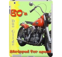 """Stripped for Speed""  iPad Case/Skin"