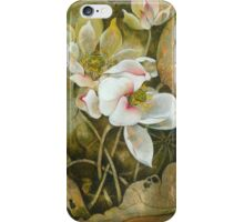 """""""In Hiding"""" from the series """"In the Lotus Land"""" iPhone Case/Skin"""