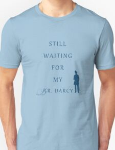 Waiting For My Darcy - Blue T-Shirt