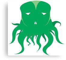 Green World Need Green Tentacle Canvas Print