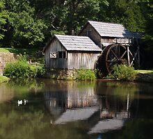 Mabry Mill by Scott Bland