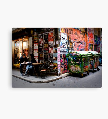 Sweet City Scents Canvas Print