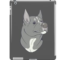Pit Bull Pride - Blue Pointed iPad Case/Skin