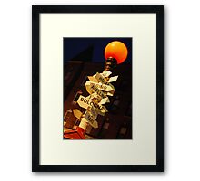 North End, Boston Framed Print