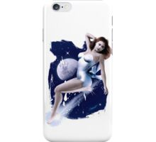 Monday's Child - Classic Pin Up Girl iPhone Case/Skin