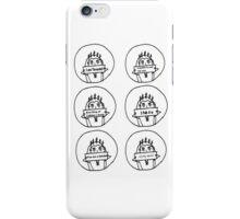 Set of 6 Thranduil drawings iPhone Case/Skin