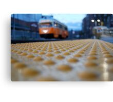 Trolley Time Canvas Print
