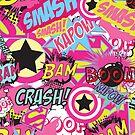 Comic Freak (Pink) by MissDev