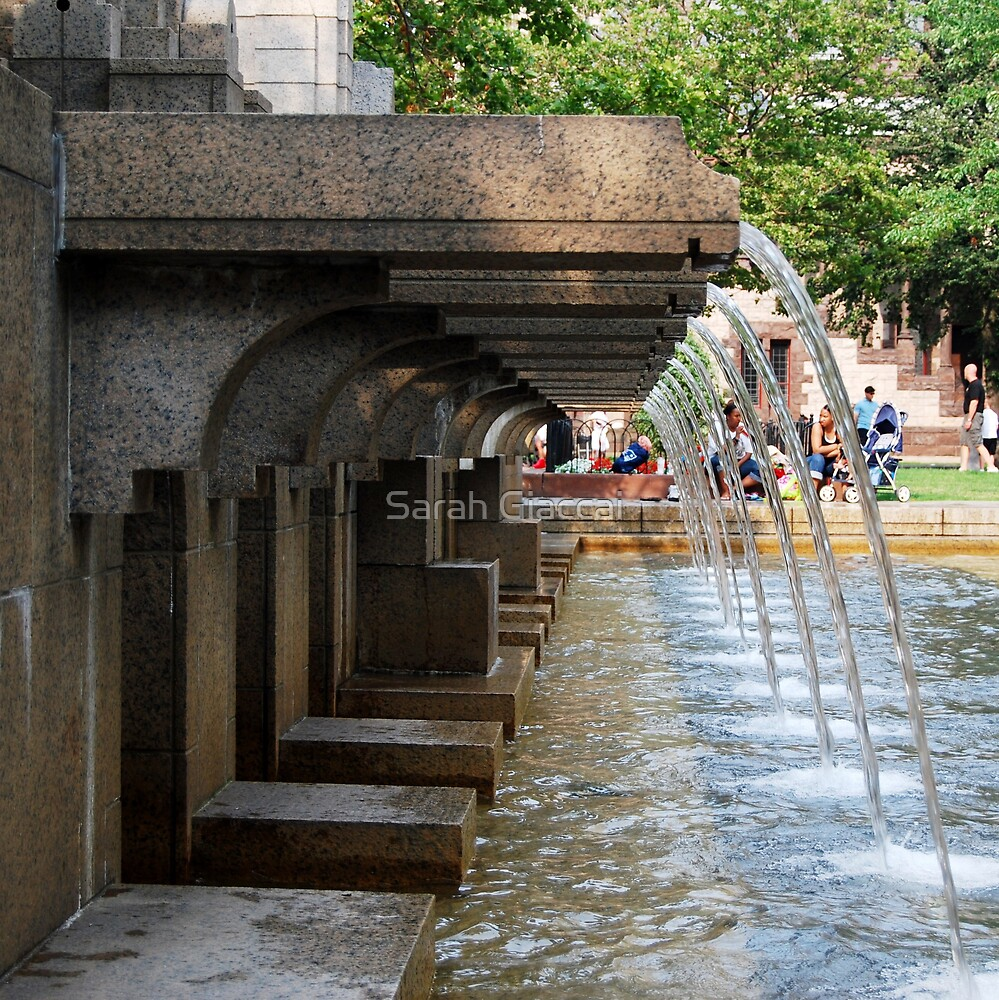 Copley Square Fountain by Sarah Giaccai