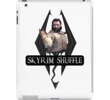 Skyrim Shuffle! iPad Case/Skin
