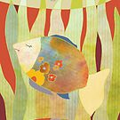 Flower Fish by Ujean1974