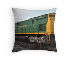 Alco Century 628 Locomotive.  Throw Pillow