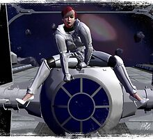 Imperial Tie Fighter (Pinup 1) by MichelleIacona