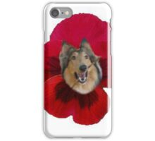 It's a Collie Flower! iPhone Case/Skin