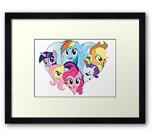 My Little Pony - Heart Framed Print