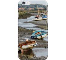 Low tide at Morston iPhone Case/Skin