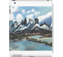 The Andes Of Chile iPad Case/Skin