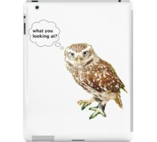 what you looking at iPad Case/Skin