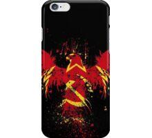 soviet pheonix iPhone Case/Skin