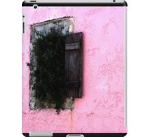 Ivy growing out of the window iPad Case/Skin