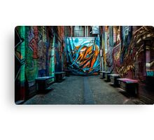 Croft's Alien Canvas Print