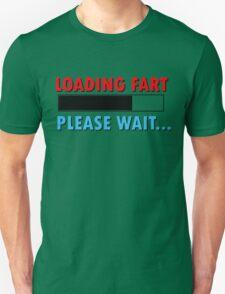 Loading Fart Please Wait   Humor Comedy T-Shirt
