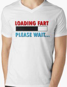 Loading Fart Please Wait | Humor Comedy Mens V-Neck T-Shirt