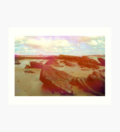 Donegal Beach Art Print