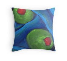 AVAILABLE- Blue Martini Throw Pillow