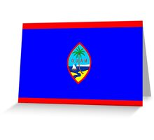 flag of Guam Greeting Card