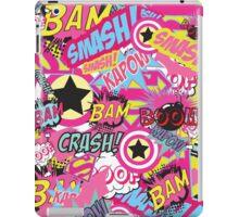 Comic Freak (Pink) iPad Case/Skin