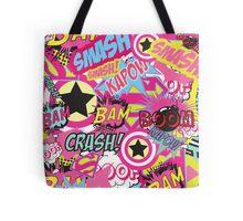 Comic Freak (Pink) Tote Bag