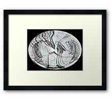 Genesis/Seeded From the Stars II Framed Print
