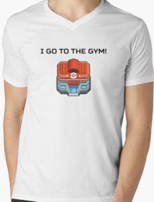 I Go To The Gym! Mens V-Neck T-Shirt