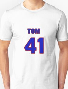 National baseball player Tom Romano jersey 41 T-Shirt