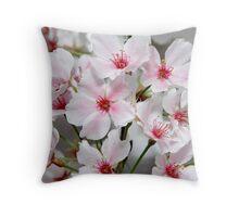 Blooming Yoshinos Throw Pillow