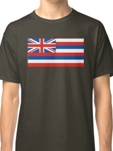 hawaii state flag Classic T-Shirt