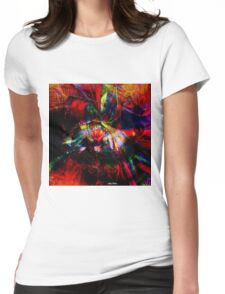 """ An atom is enough for disturbing the eye of the spirit. "" Womens Fitted T-Shirt"