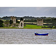 ruined abbey at Wellingtonbridge, County Wexford, Ireland Photographic Print