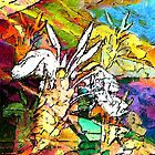 Tropical Abstract by DeeZ (D L Honeycutt)