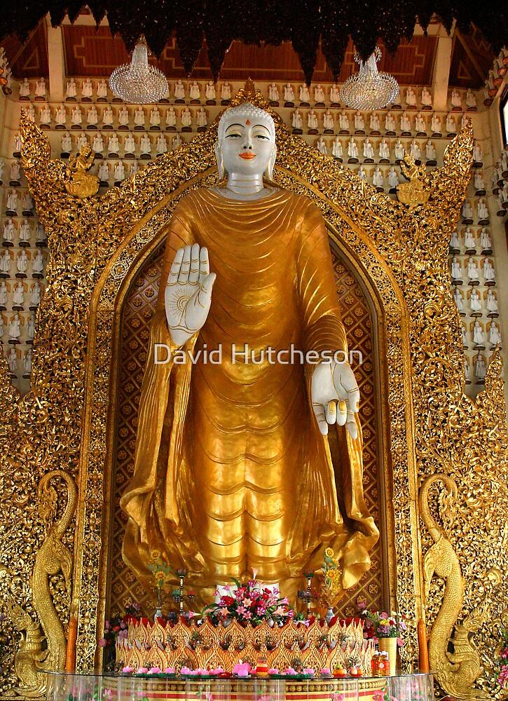 Lord Buddha - Dhammikarama Burmese Temple by David Hutcheson