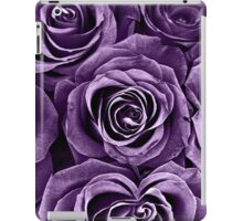 Rose Bouquet in Purple iPad Case/Skin