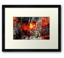 Firestone Framed Print