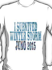 I Survived Winter Storm Juno 2015 T-Shirt