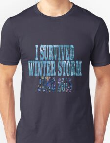 I Survived Winter Storm Juno 2015 T-Shirt