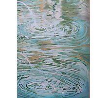 Fountain ripples 2 Photographic Print