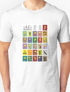 Watford A to Z Unisex T-Shirt