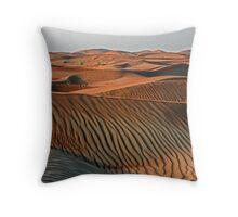 Dune Sunrise Throw Pillow
